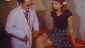 Dr. Flasher gives her a full examination - Vintage