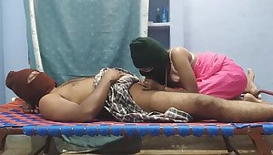 sultry Newly Married indian Couple rendition well done bonking pussy licking cock sucking nicE Lasting bonking