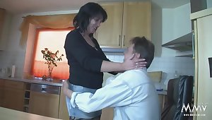 MMV FILMS Amateur German Old lady