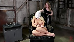 Ass gaping lesbian femdom for two dirty sluts