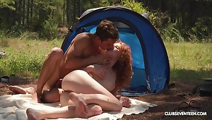 Awl slut enjoys great camping trip fucking all day